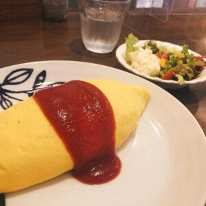 洋食 タケル オムライス